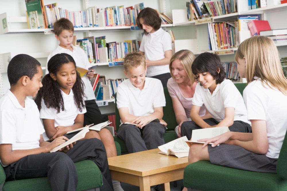 Junior school students
